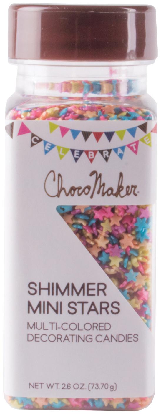 ChocoMaker Stars (R) Shimmer Beads 2.6oz