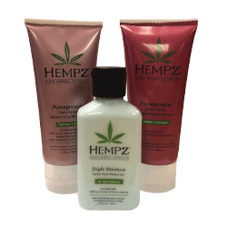 Free HEMPZ Travel Kit