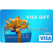 Free $10 Visa Gift Color