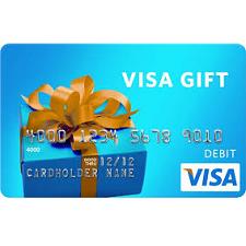 $15 Visa Gift Card