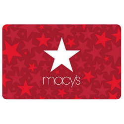 Free $25 Macy's Gift Card