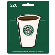 Get a $20 Starbucks Card