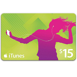 Free $15 iTunes Gift Card!