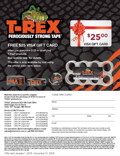 click for information for rebate
