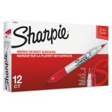 Sharpie Twin Tip Red Permanent Markers