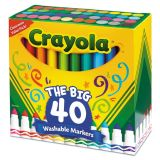 Crayola The Big 40 Washable Markers