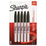 Sharpie Fine Point Black Permanent Markers