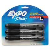 Expo Click Retractable Dry Erase Markers