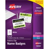 Avery Name Badge Insert