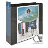 "Business Source Basic 3"" 3-Ring View Binder"