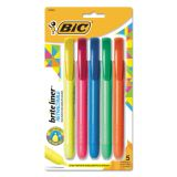 BIC BriteLiner Retractable Highlighters