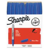 Sharpie Fine Point Blue Permanent Markers
