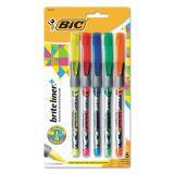 BIC Brite Liner Grip Fluorescent Highlighters