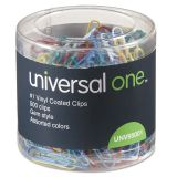 Universal One #1 Vinyl-Coated Paper Clips
