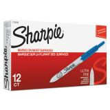 Sharpie Retractable Ultra Fine Blue Permanent Markers