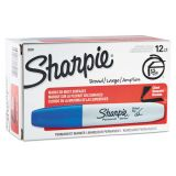Sharpie Chisel Tip Blue Permanent Markers