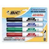 BIC Great Erase Low Odor Dry-Erase Markers