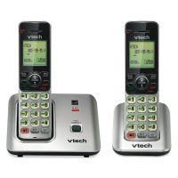 Vtech CS6619-2 Cordless Phone System, Base and 1 Additional Handset VTECS66192