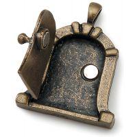 Fairy Door Metal Charm 1/Pkg NOTM493777