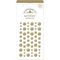 Sprinkles Self-Adhesive Glossy Enamel Embellishments NOTM094779