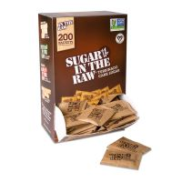Sugar in the Raw Unrefined Sugar Made From Sugar Cane, 200 Packets/Box SMU00319