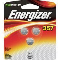 Energizer Watch/Electronic Battery, SilvOx, 357, 1.5V, MercFree, 3/Pk EVE357BPZ3