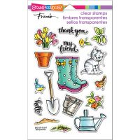 """Stampendous Perfectly Clear Stamps 7.25""""X4.625"""" NOTM215472"""