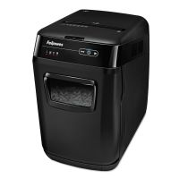 Fellowes AutoMax 130C Auto Feed Medium-Duty Cross-Cut Shredder, 130 Sheet Capacity FEL4680001