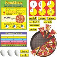 Fraction Action Bulletin Board Set TEPT8156