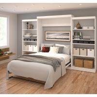 "Bestar Pur by Bestar 136"" Queen Wall bed kit in White BESBES2688517"