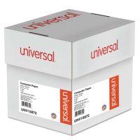 Universal Multicolor Computer Paper, 2-Part Carbonless, 15lb, 9-1/2 x 11, 1800 Sheets UNV15872