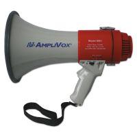 AmpliVox MityMeg Piezo Dynamic Megaphone, 20W, 1/2 mi Range APLS601R