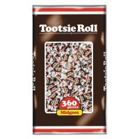 Tootsie Roll Midgees, Original, 38.8oz Bag, 360 Pieces TOO7806