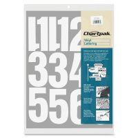 Chartpak Permanent Adhesive Vinyl Numbers CHA01196
