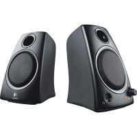Logitech Z130 2.0 Speaker System - 5 W RMS - Desktop - Black SYNX2707113