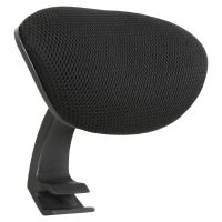 Lorell Mid-back Chair Mesh Headrest LLR40205