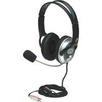 Manhattan Classic Stereo Headset with Flexible Microphone Boom SYNX3570634