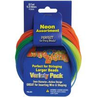 Pony Bead Lacing Cord Variety Pack  NOTM298162