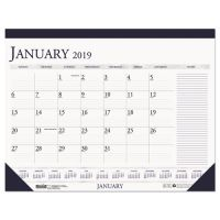 House of Doolittle Recycled Two-Color Monthly Desk Calendar w/Large Notes Section, 18 1/2 x13 HOD1646
