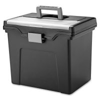 Iris Portable Hanging File Box IRS110977