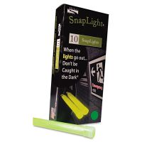 "Miller's Creek Snaplights, 6""l x 3/4""w, Green, 10/Pack MLE151848"