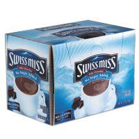 Swiss Miss Hot Cocoa Mix, No Sugar Added, 24 Packets/Box SWM55584