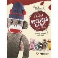 Red Heel Sock Monkey Pattern Book NOTM159447
