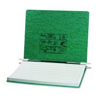 "ACCO PRESSTEX Covers w/Storage Hooks, 6"" Cap, 14 7/8 x 11, Dark Green ACC54076"