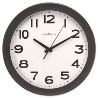 "Howard Miller Kenwick Wall Clock, 13-1/2"", Black MIL625485"