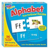 TREND Fun to Know Puzzles, Alphabet TEPT36002