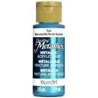 Deco Art Teal Dazzling Metallics Acrylic Paint  NOTM135884
