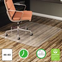 deflecto EconoMat Anytime Use Chair Mat for Hard Floor, 46 x 60, Clear DEFCM21442F