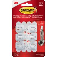 Command Mini Hooks MMM17006