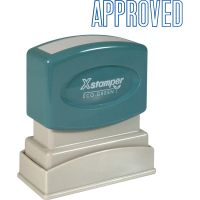 Xstamper APPROVED Title Stamp XST1008
